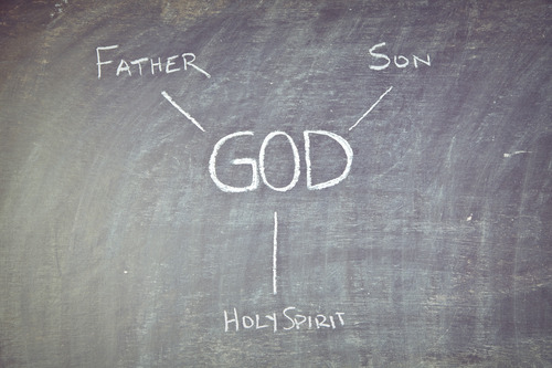 The Trinity is not separate. The Holy Spirit is not separate from The Father and The Son.