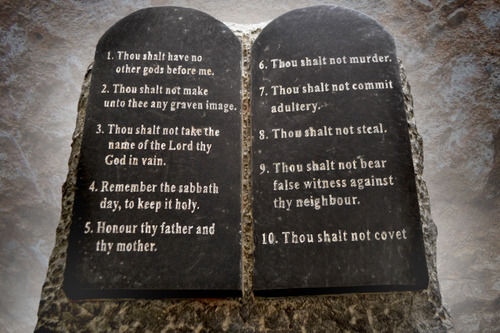 God's commandments are part of practical application and living God's word, the Bible.