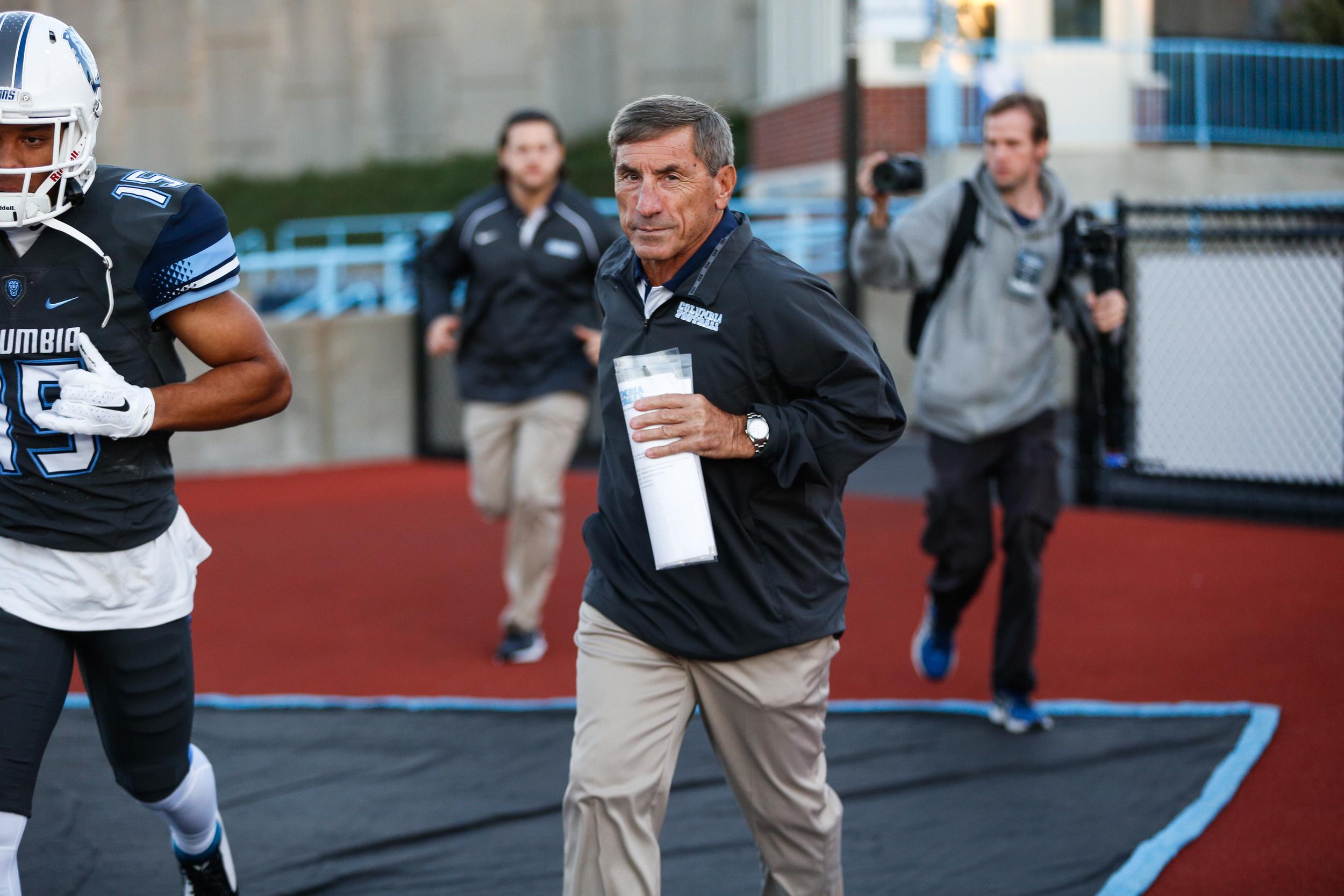 Columbia Lions Head Coach Al Bagnoli - Taken for The Columbia Daily Spectator