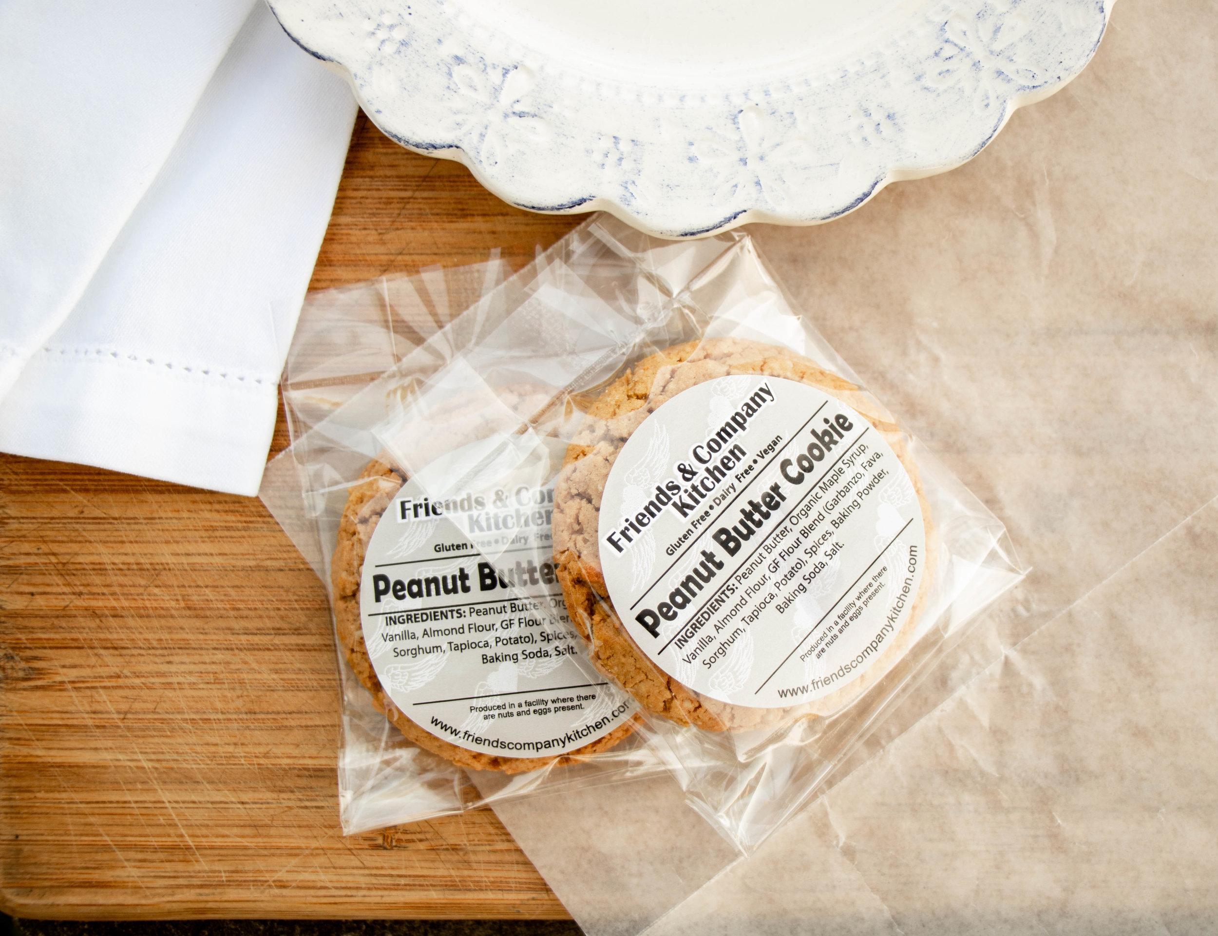 Friends & Company Kitchen Peanut Butter Cookies