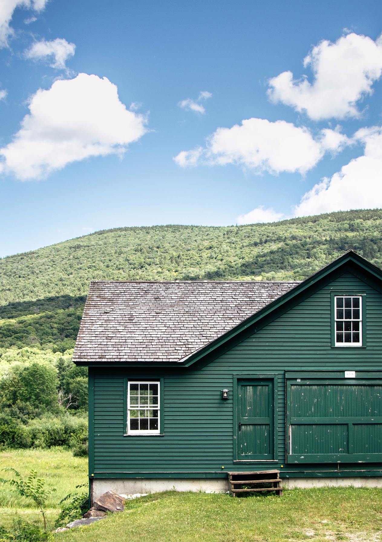 SCENES of NEW ENGLAND - (currently: Barnes' Barns, warmer weather edition)