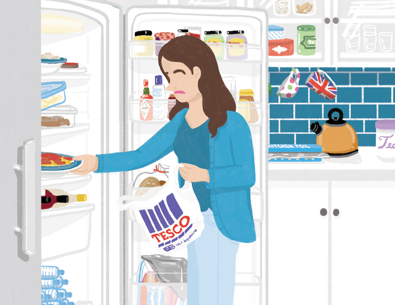 Food storage: UK