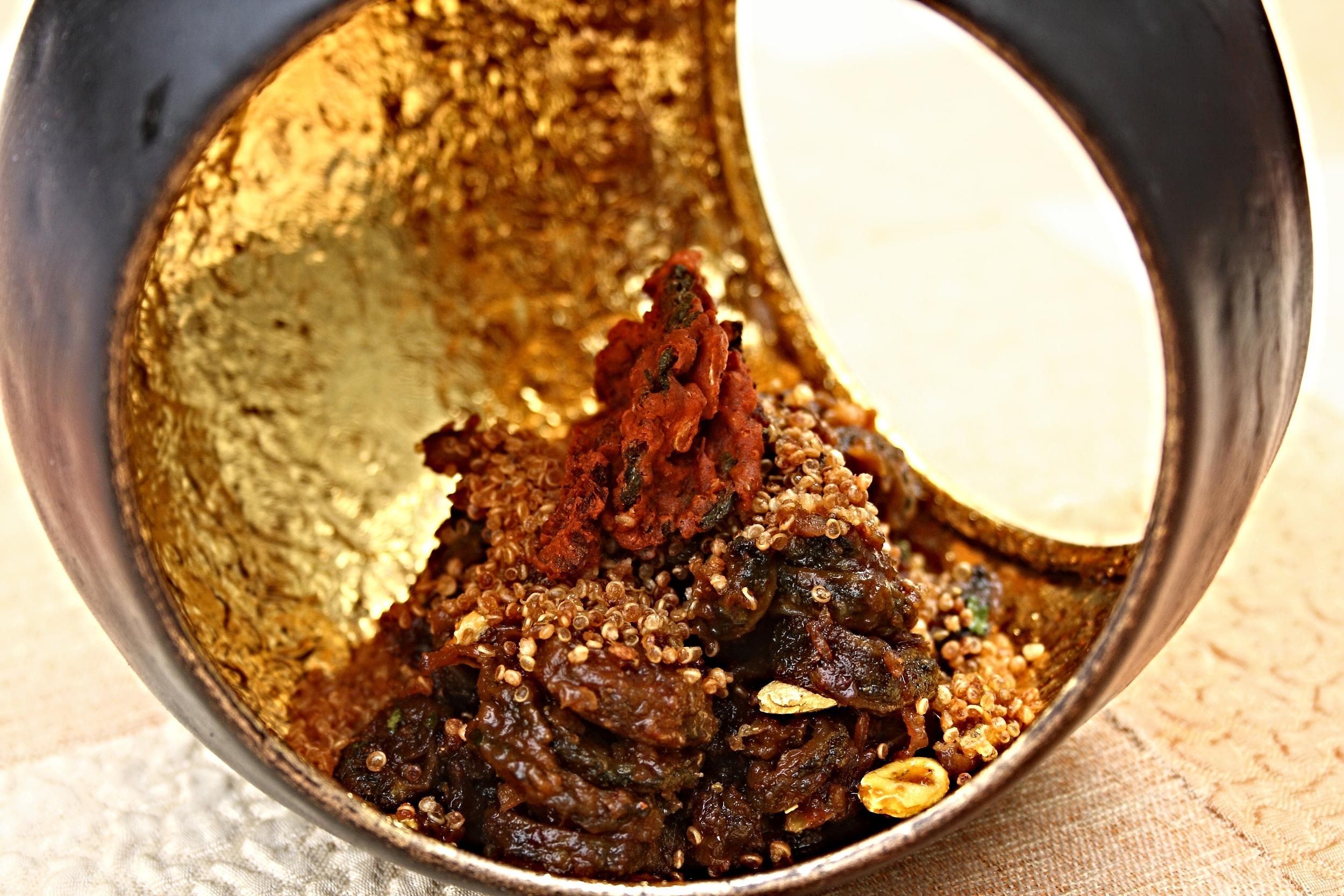 Churan Ka Karela, Quinoa Puffs, Bitter Melon Crisps