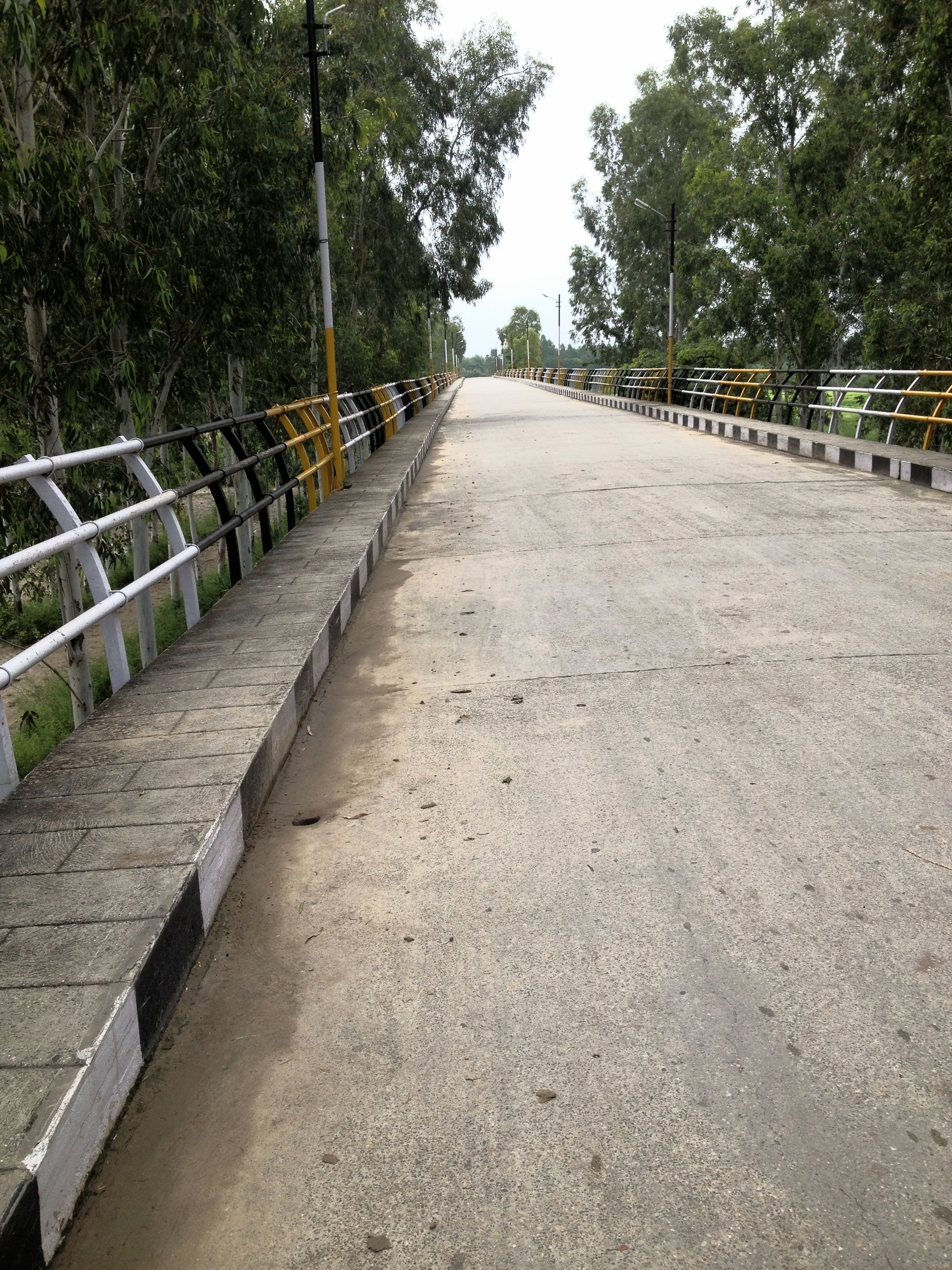 Bridge over Nasrala Cho