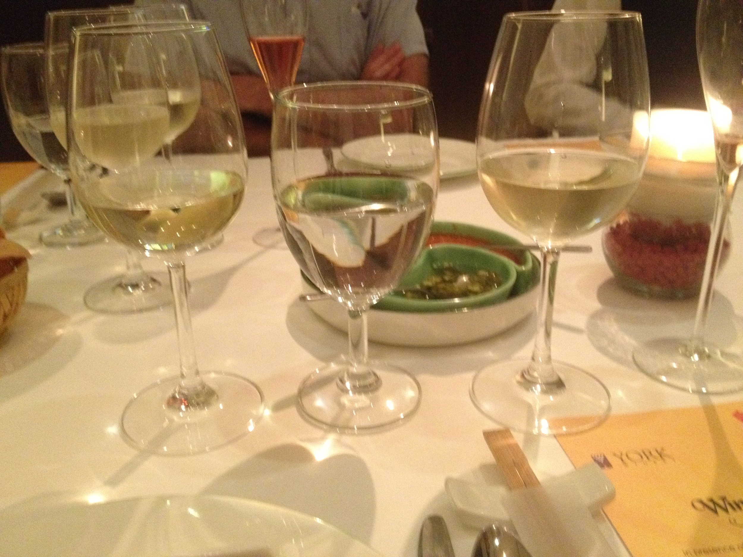York Sauvignon Blanc and York Chenin Blanc