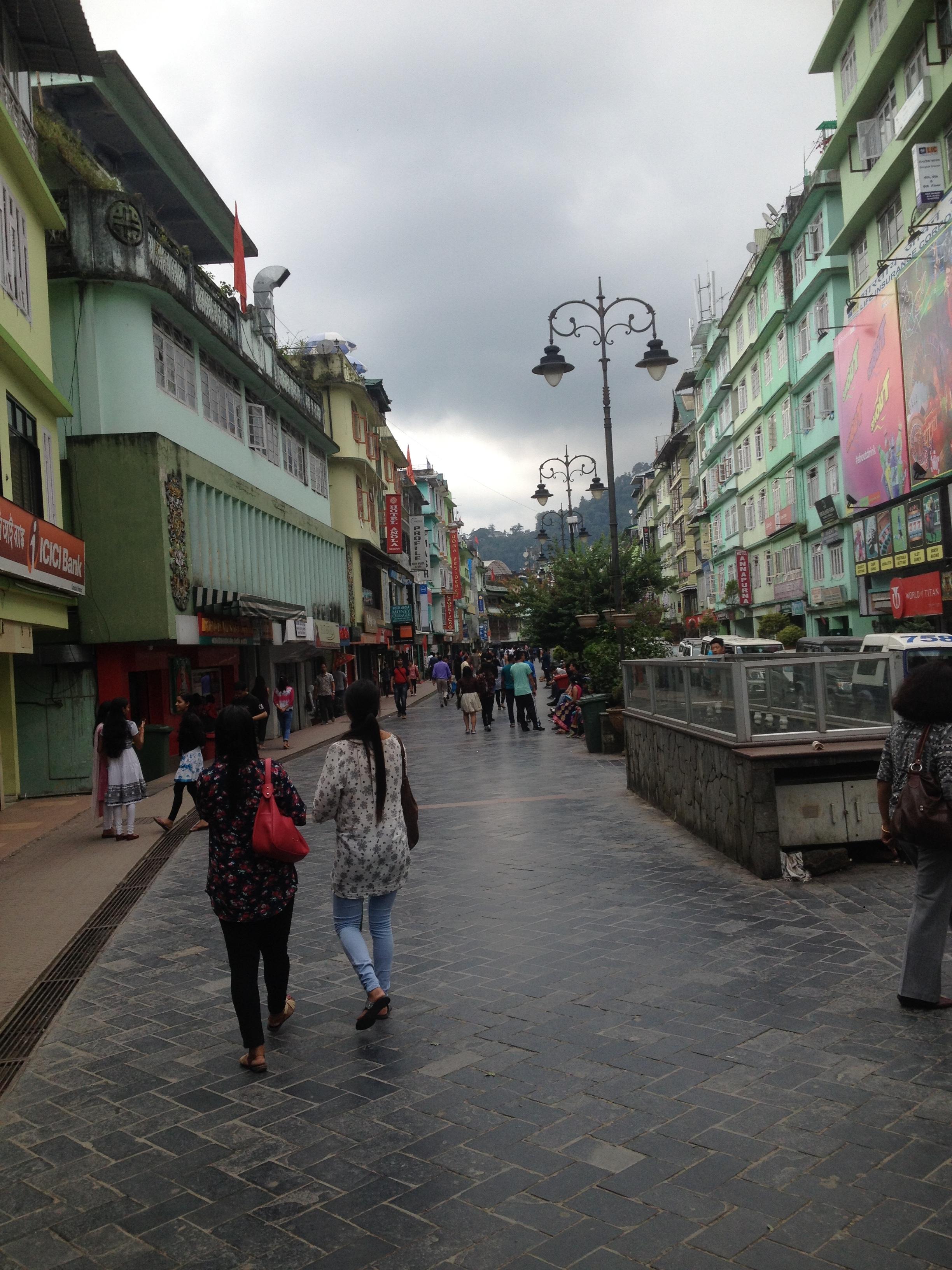 MG Road, Gangtok, Sikkim