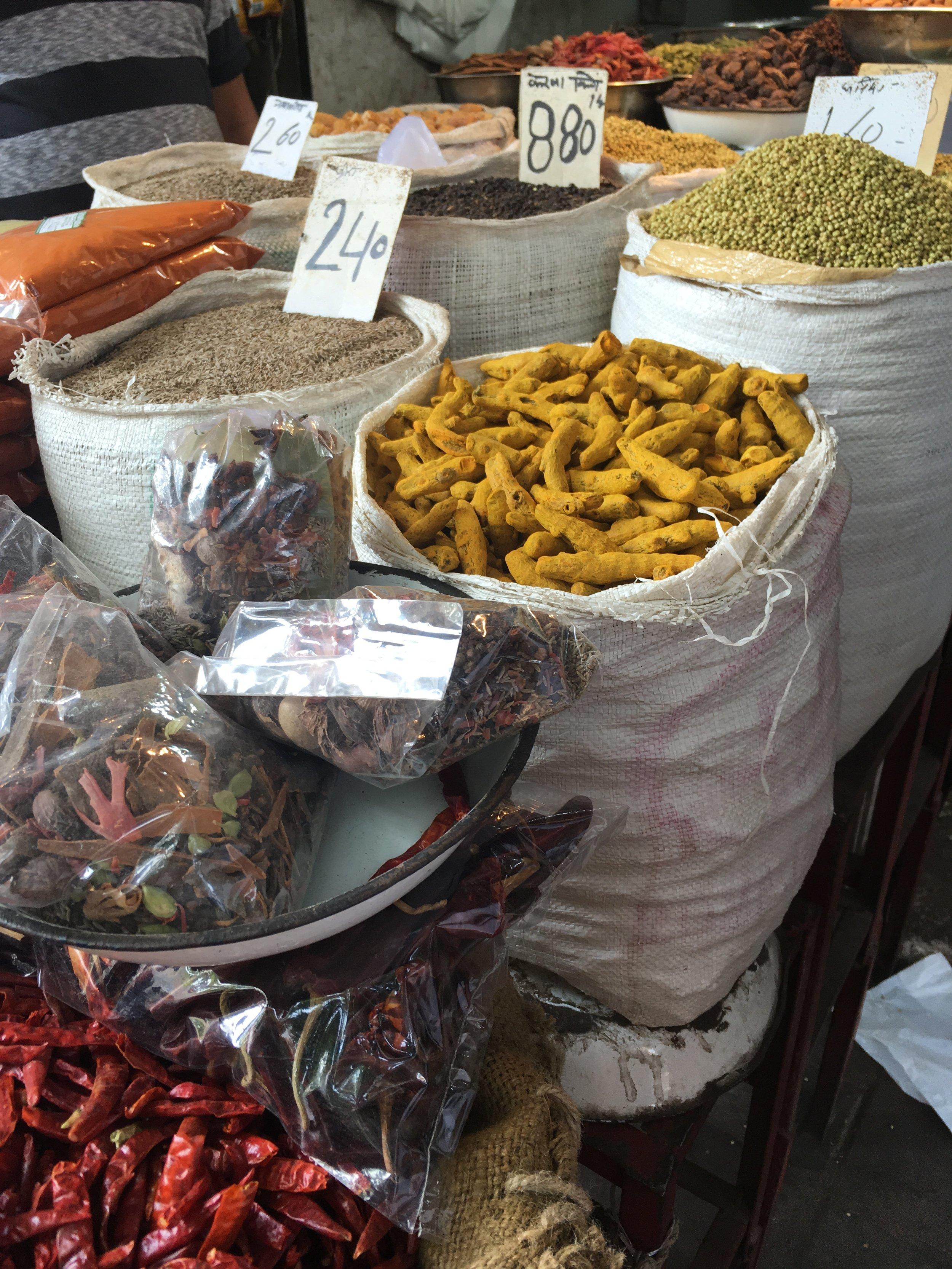 Spices in Khari Baoli