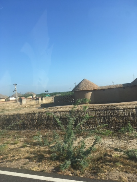 Picture of villages en route to the White Rann