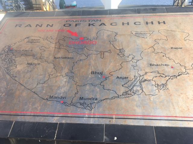 Map of Kutch/ Kachchh