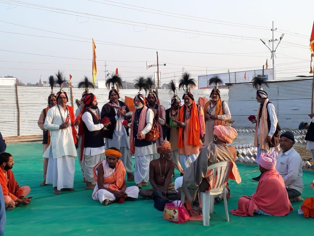 Scene from the Gorakhnath Akhara