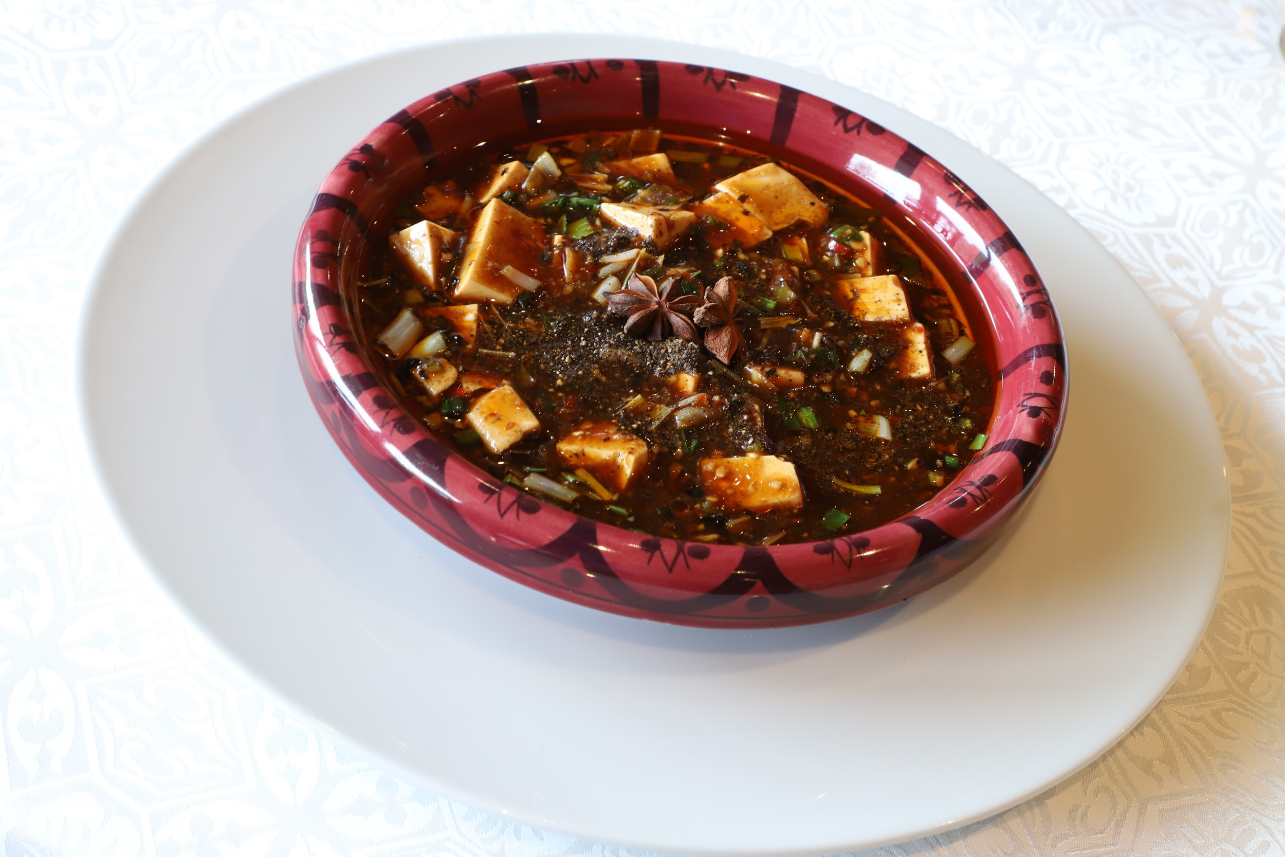 Silken Tofu in Chilli Black Bean Sauce