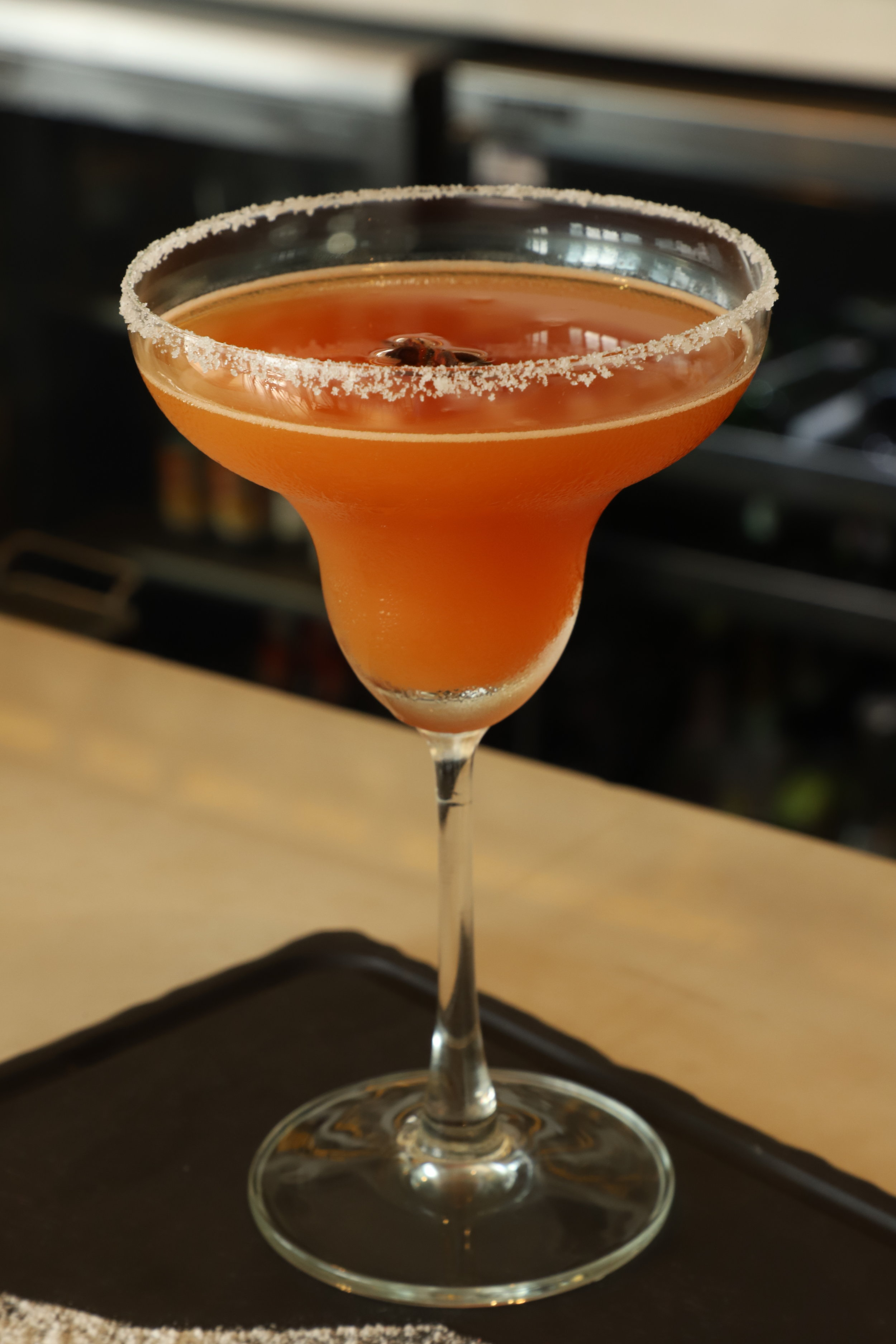 Triangle: with Carrot and Tequila