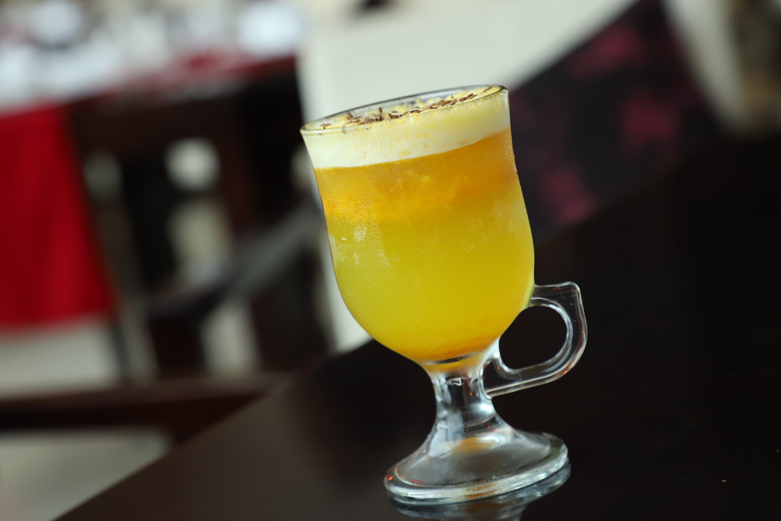 Back to Square: With Gin and Turmeric