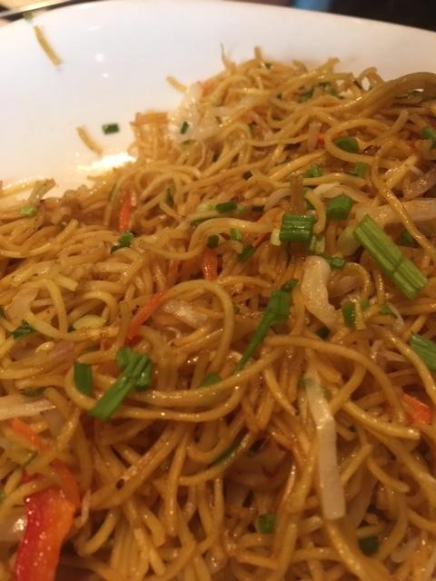 Mixed Vege Hakka Noodle