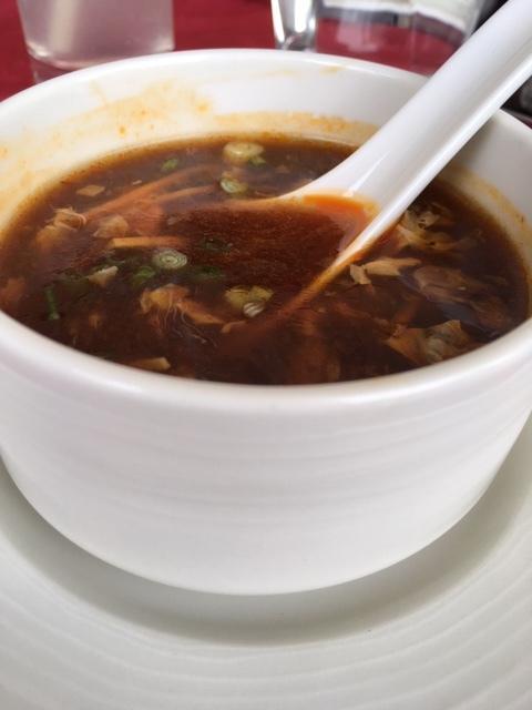 Schezwan Chicken Soup