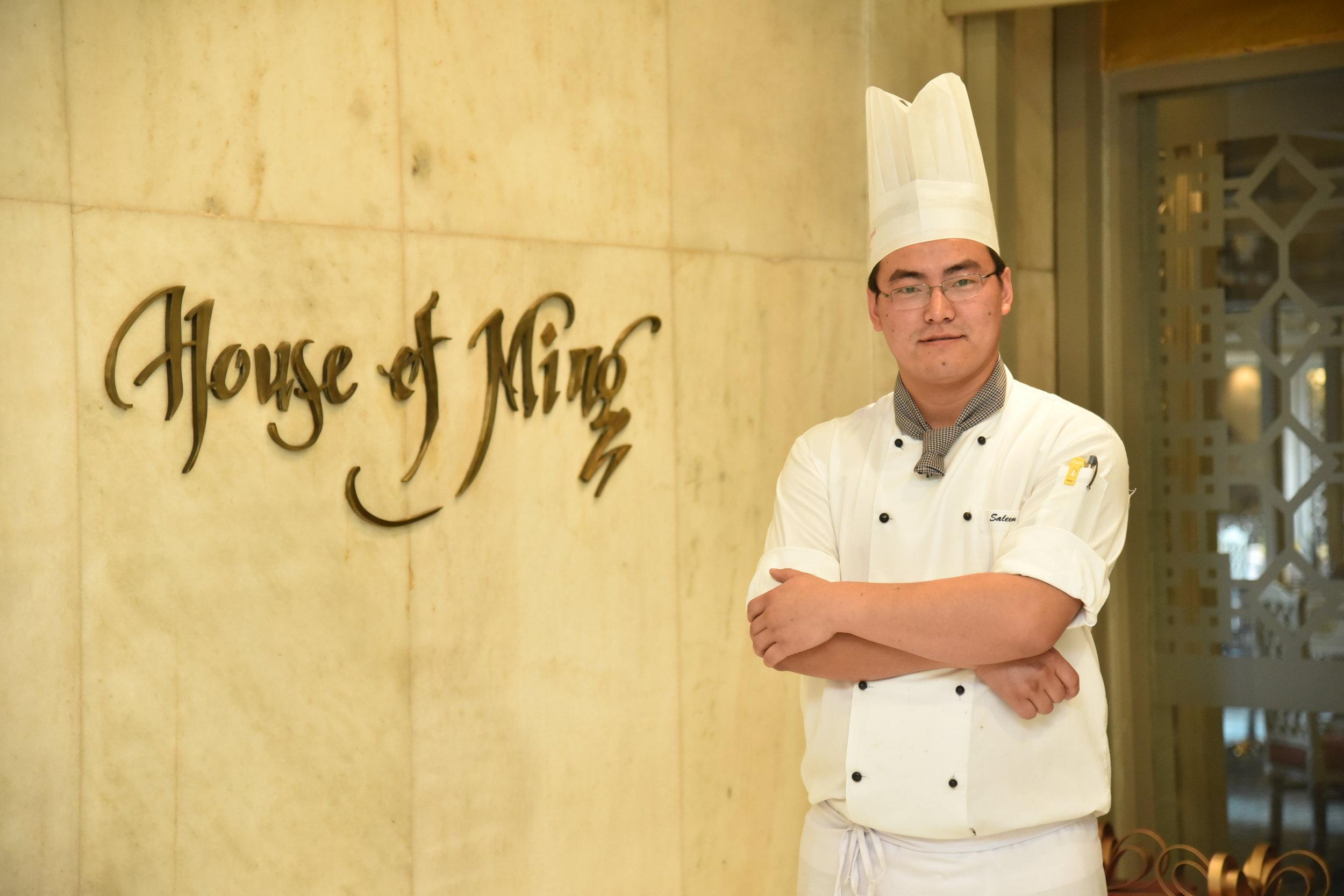 Chef Salem Lepcha, House of Ming