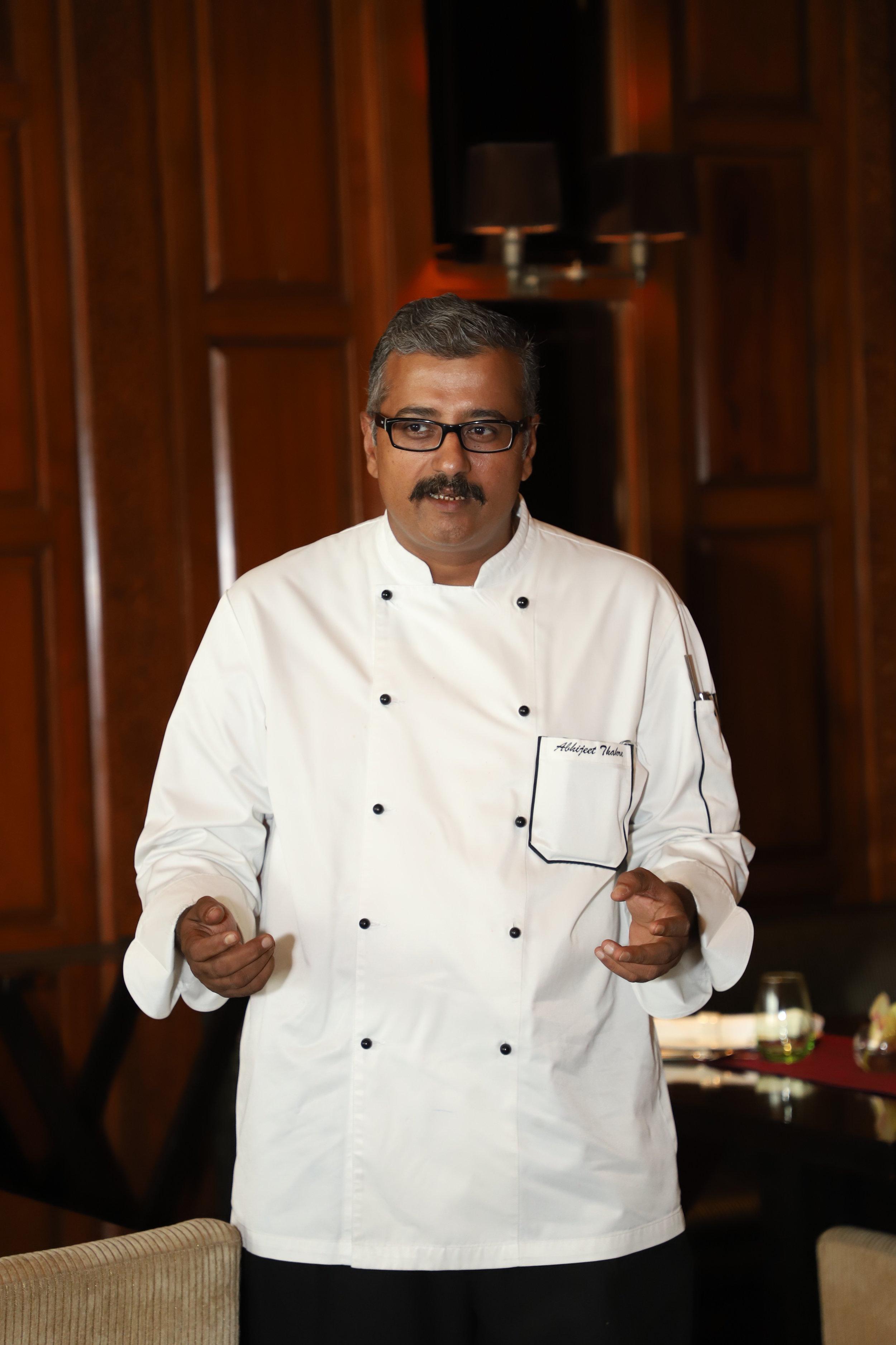 Executive Chef Abhijeet Thakre, Taj City Center Gurugram