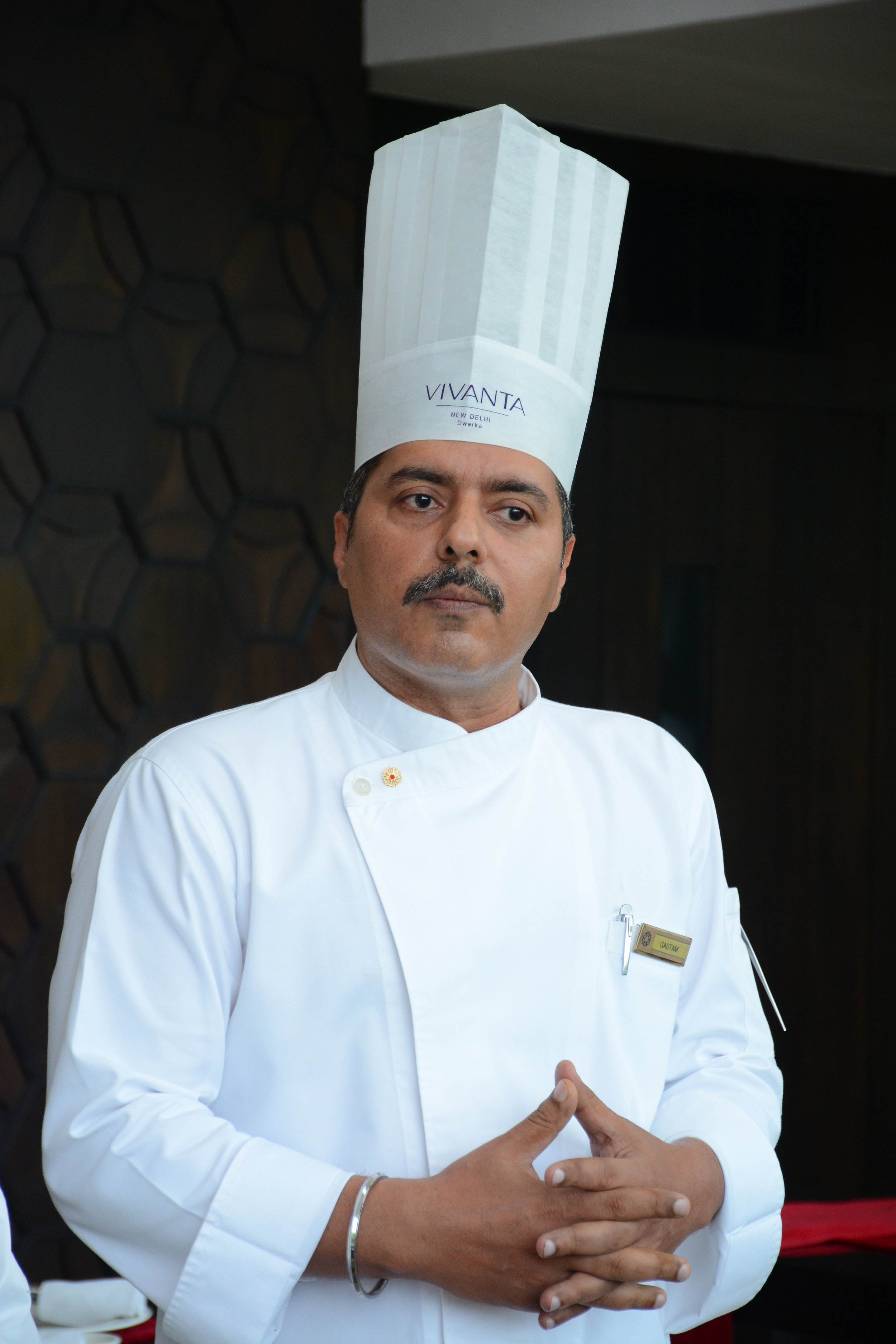Chef Gautam Mehrishi at Vivanta Dwarka
