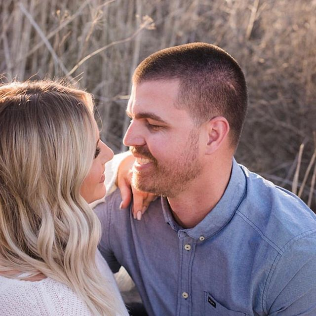 By this time tomorrow these smiling faces will be Mr. and Mrs. Patrick!!