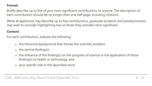 NIH+Biosketch+Instructions