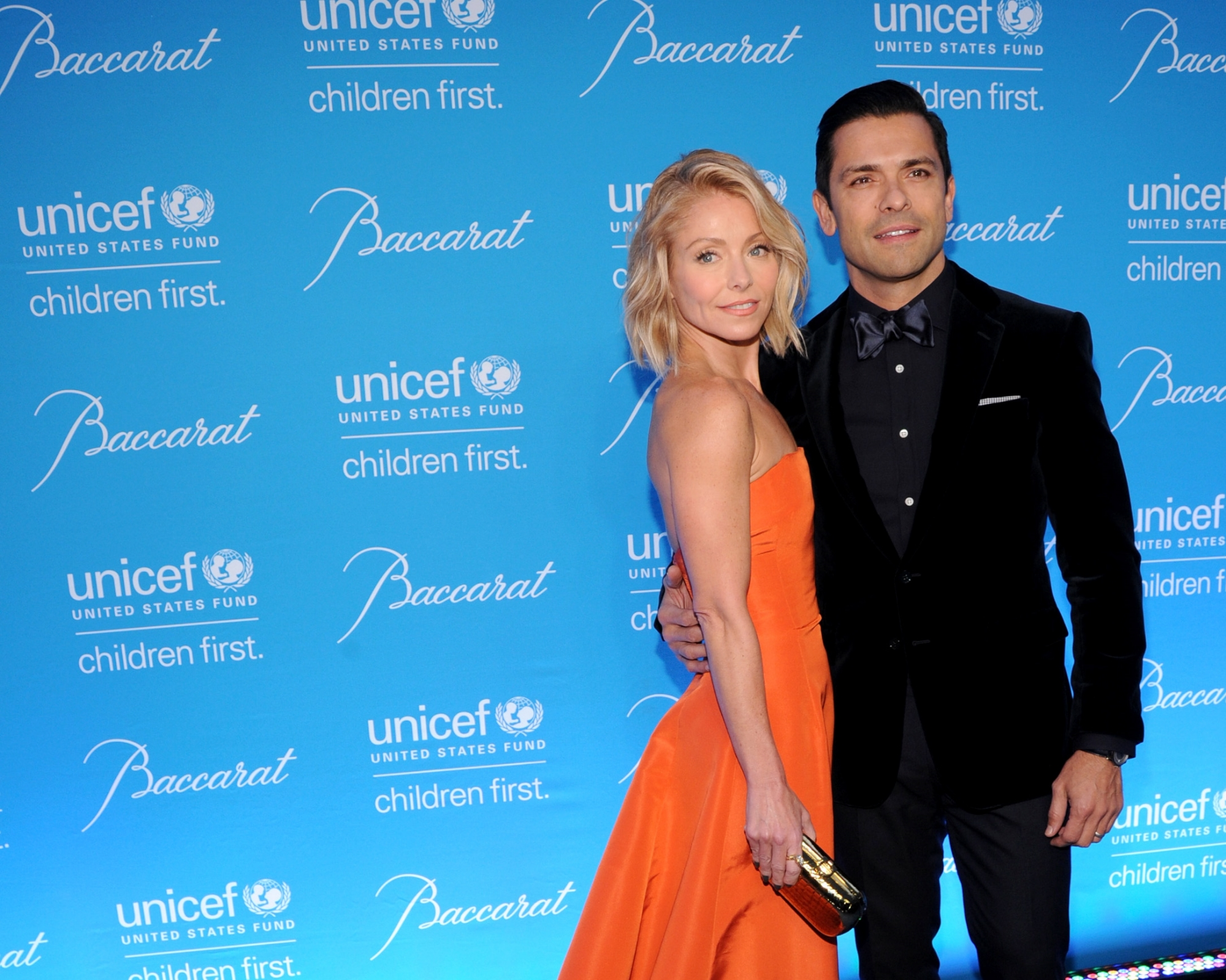Kelly Ripa and Mark Consuelos ©2014 Bryan Bedder/Getty Images for UNICEF
