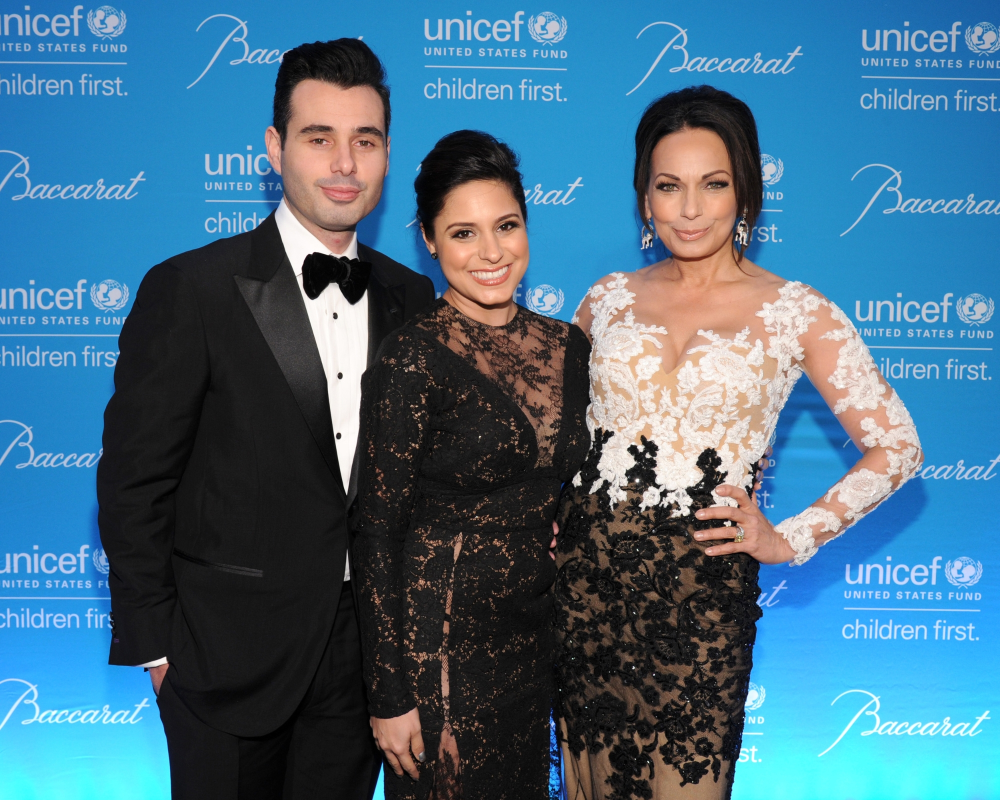 Michael and Aphrodite Camello and Moll Anderson ©2014 Bryan Bedder/Getty Images for UNICEF