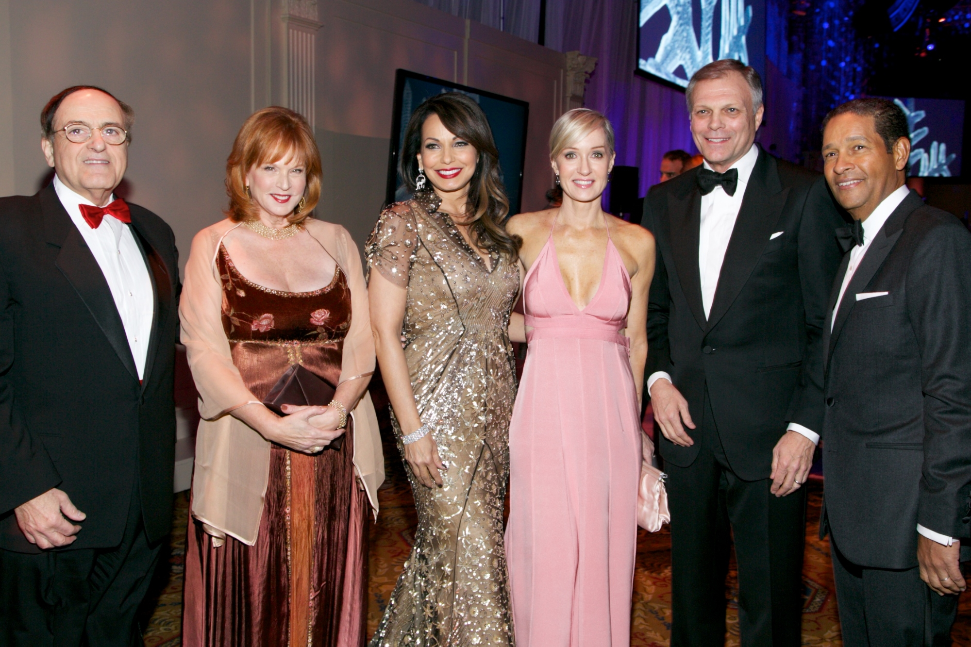 George and Christine Stonbely, Moll Anderson, Hilary Gumbel, Charlie Anderson and Bryant Gumbel© 2013 Julie Skarratt Photography Inc./U.S. Fund for UNICEF