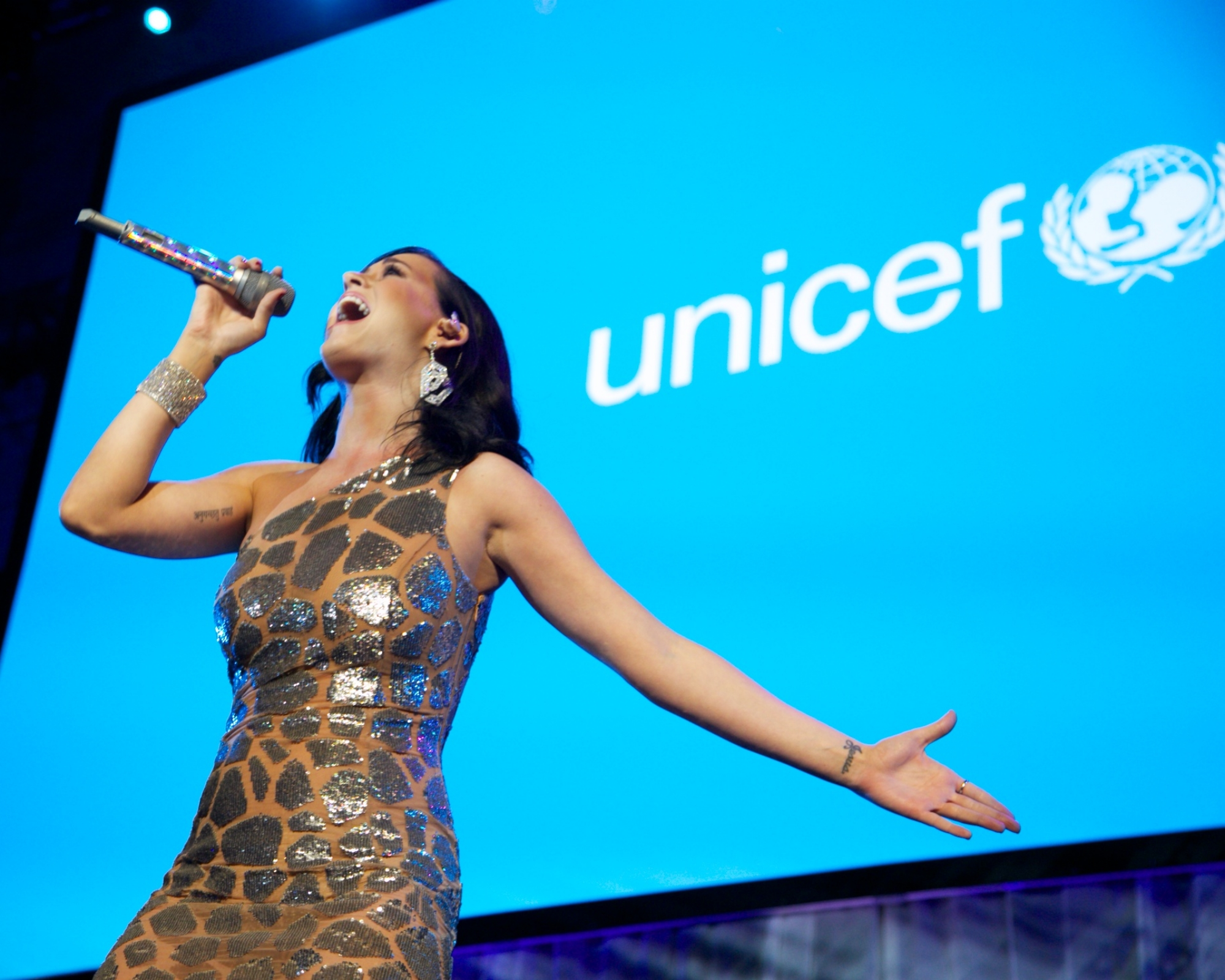 UNICEF Goodwill Ambassador Katy Perry