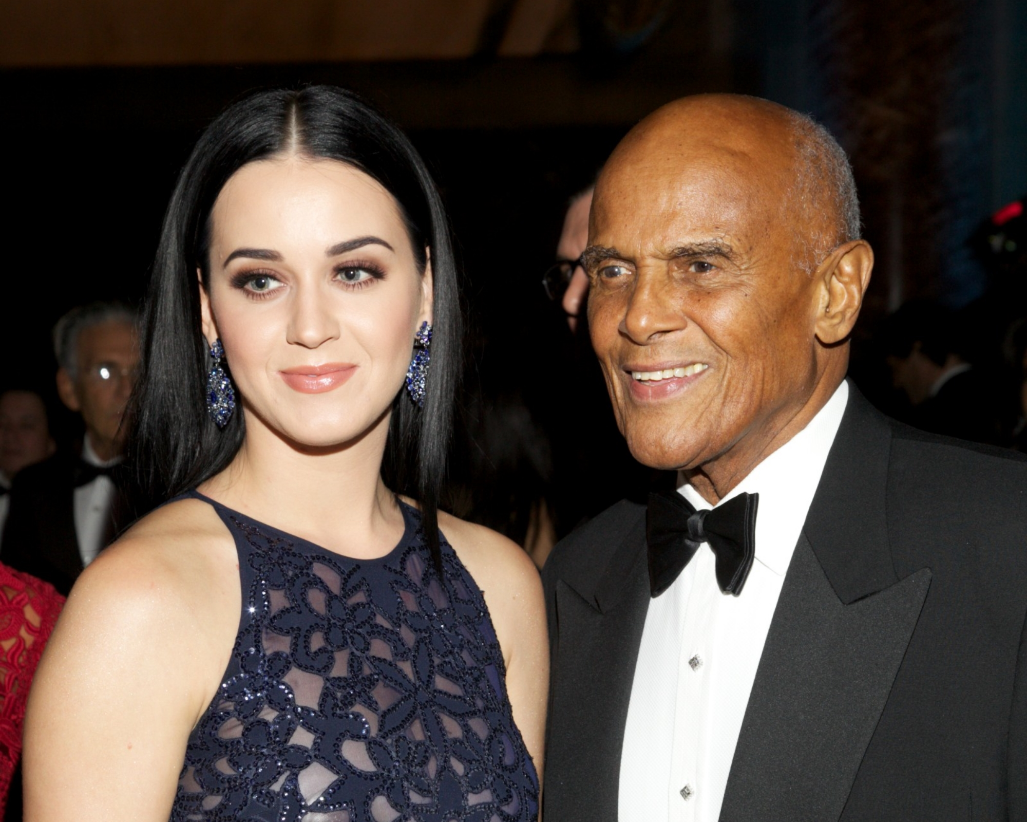 Katy Perry and Harry Belafonte
