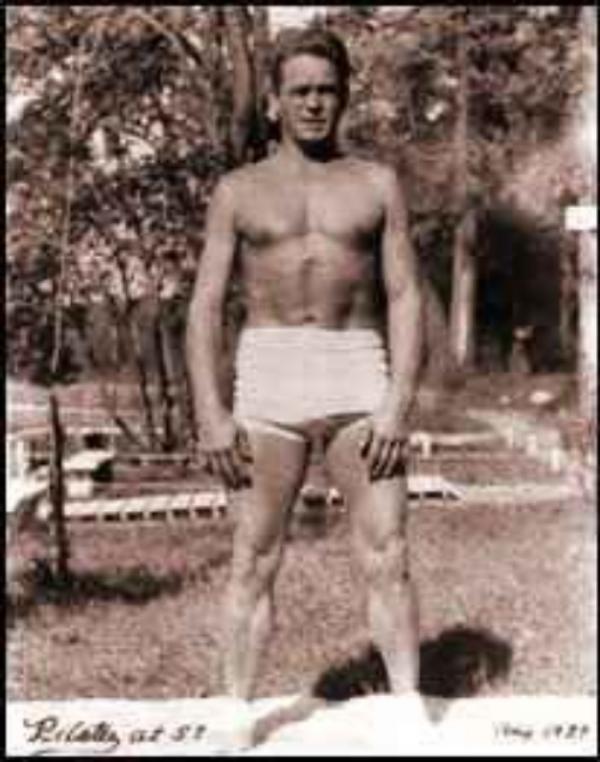 Joseph Pilates at age 57