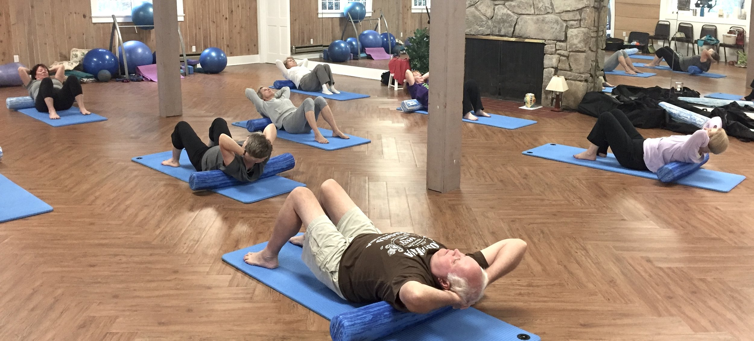 Group Mat Classes - Ongoing at Laurel Ridge Country Club. You do not have to be a member of the club or its fitness center to attend Mat Classes. All are welcome!
