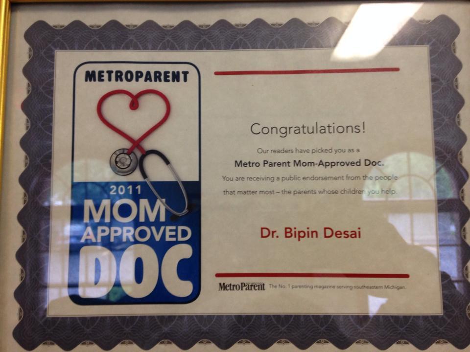 Dr. Desai Pediatrician Award.jpg