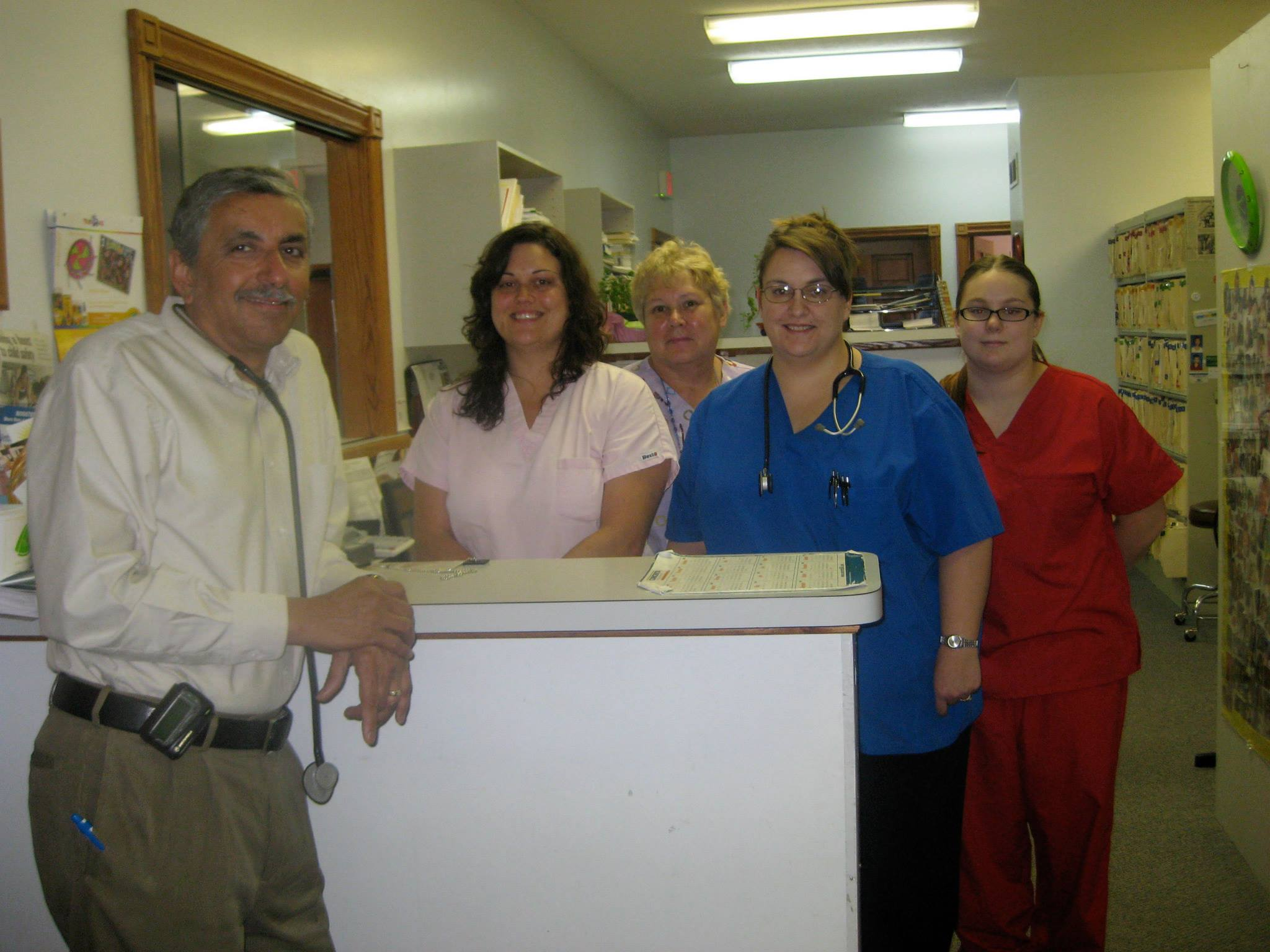 Dr. Desai and Staff