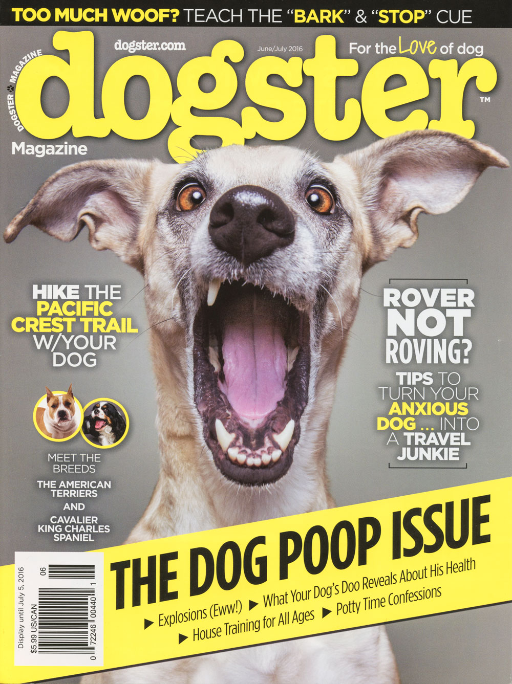 Dogster June/July 2016