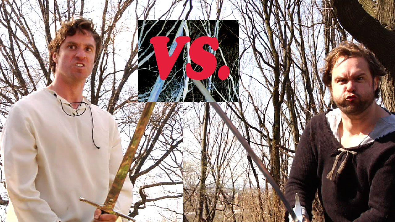 JIM VS. NATE: WHO IS MORE AWESOME.    An epic battle to decide who is more awesome.    A show that was delayed by a hurricane, a flu, and one of the guys got some job. Finally it's happening.    Thursday, May 2nd. 6:30pm. SPANK at the UCB Theater.    307 W 26th St.    $5.    With Jim Santangeli, Nate Smith and Gavin Speiller as God.
