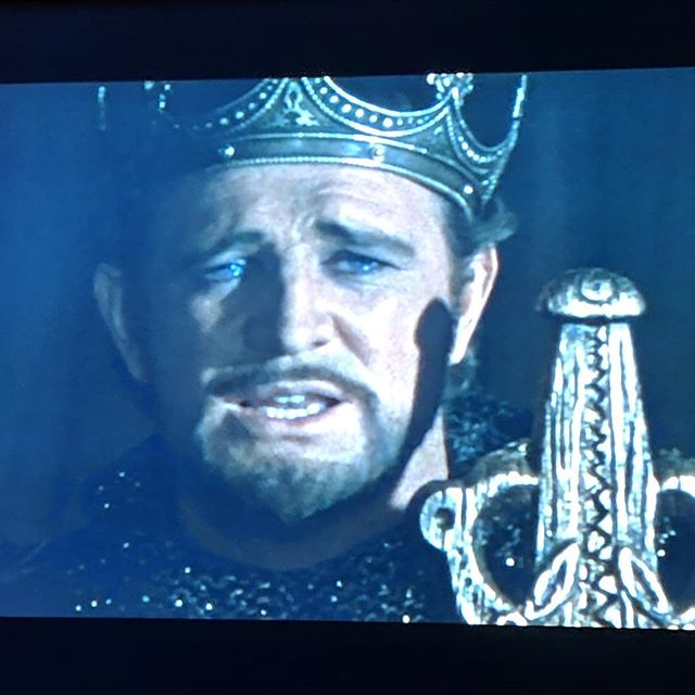 Oh Merlin. Cast upon my face that which I desire most. #richardharris #penisharris #camelot