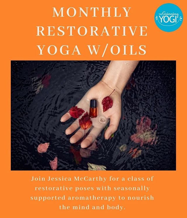 Tonight!! Bliss out with @luminousarchitecture for her monthly restorative and essential oils workshop 🌟