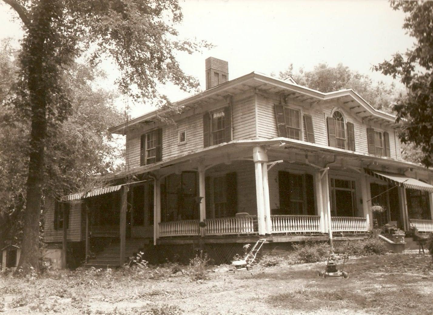 Condition of the Mabry-Hazen House, circa 1987