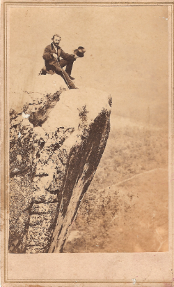 Joseph Mabry at Lookout Mountain Carte de Visite, 1860s