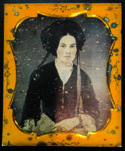 Laura Evelyn Churchwell Mabry Ambrotype, 1850s