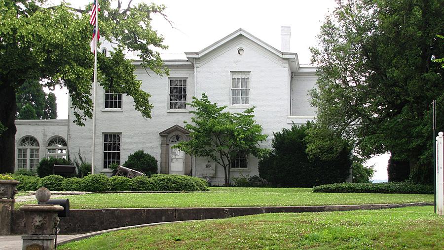 """""""Bleak House"""" -Confederate Memorial Hall"""
