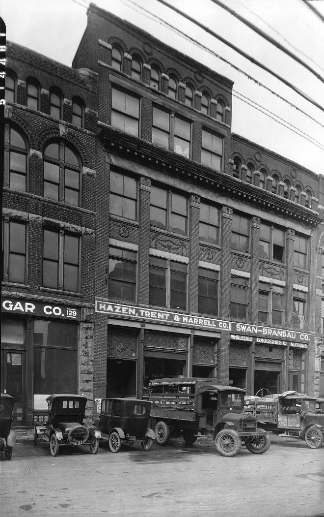 Hazen  ,  Trent    &    Harrell    Co.  ,  Swan-Brandau    Co  . November 26, 1921 Courtesy McClung Collection