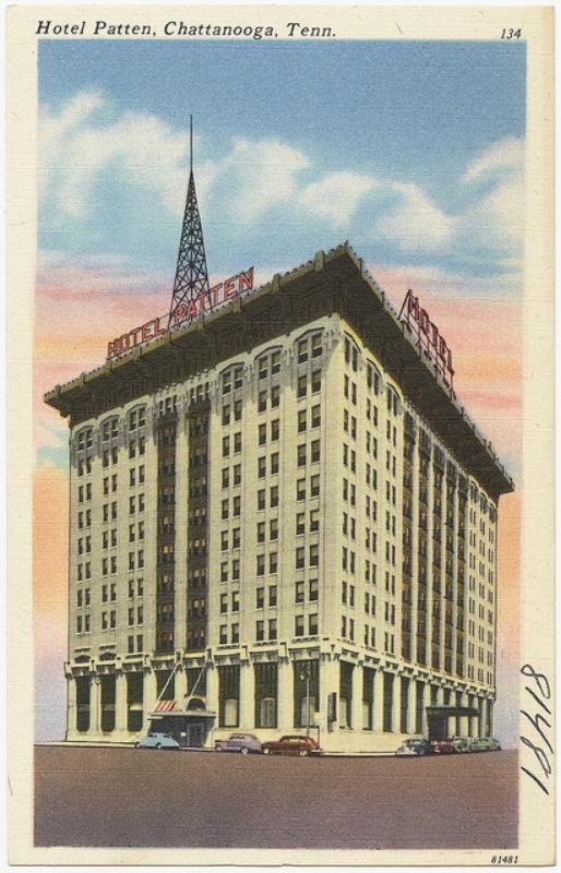 Hotel Patten, ca. 1930