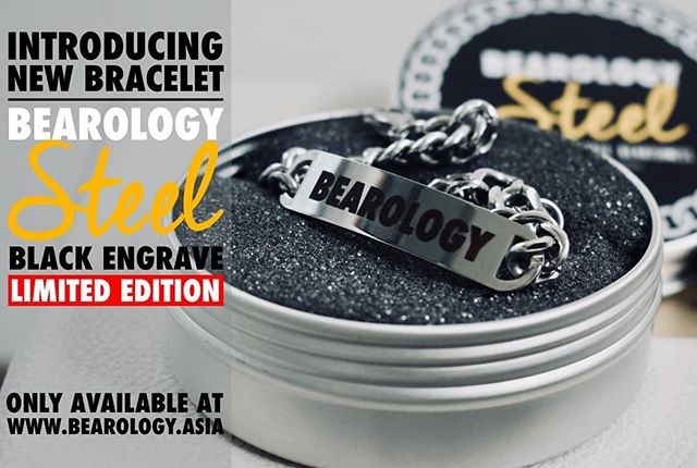 INTRODUCING..NEW BEAROLOGY STEEL BRACELET BLACK ENGRAVED  Limited Edition! 🐻❤️ Bearology brings out the new element to our Bear's community.Premium.Lifestyle.Bearishness  In our new design bracelet, we employed new elegant techniques and rounded stainless steel.Comes in classic silver with our iconic brand name.To make you look cool and boost up your confidence!To express your attitude and make you proud.  新品推介。。。BEAROLOGY 手环刻黑色字  限量版呈现~ 🐻❤️ BEAROLOGY 一如既往地为大家带来新的生活亮点熊熊一族 有型有款  新品手环整体外形为经典银色,其上印有BEAROLOGY字样优雅 简洁 大方戴上它 来展示你的自信戴上它 来秀出你的态度戴上它 成为明日之星