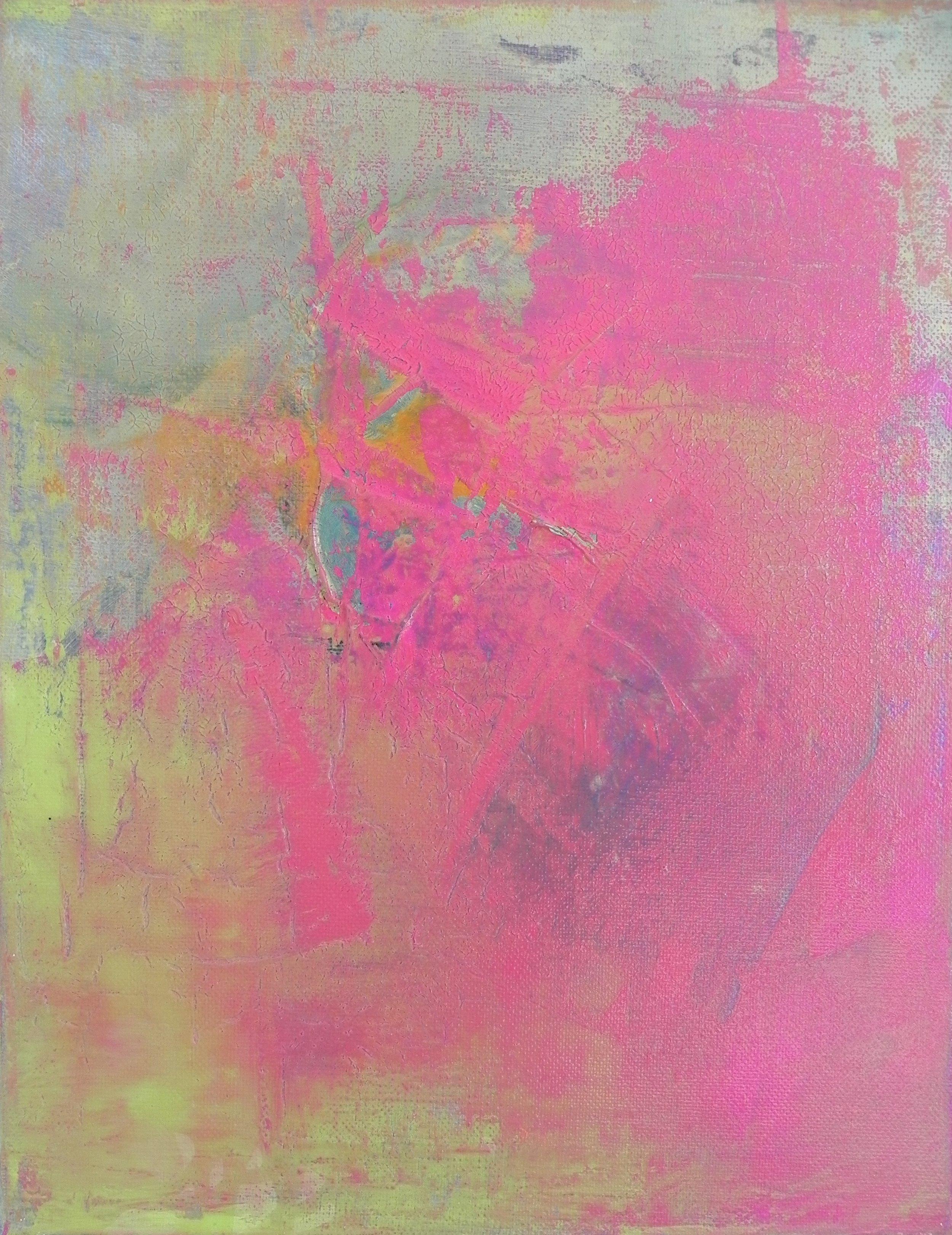 """BOLD, 2013. 14"""" x 11"""". Canvas. Acrylic. Copyright © Karen Santos 2013."""