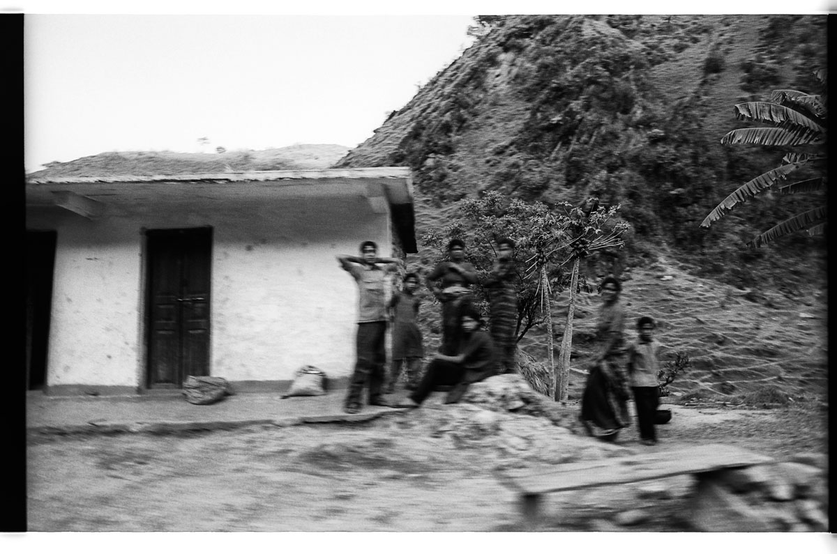 Browse through my archive from 2004 photos from India  Somewhere in Uttarakhand near the town of Almora on a tour to a hill station in 2004.