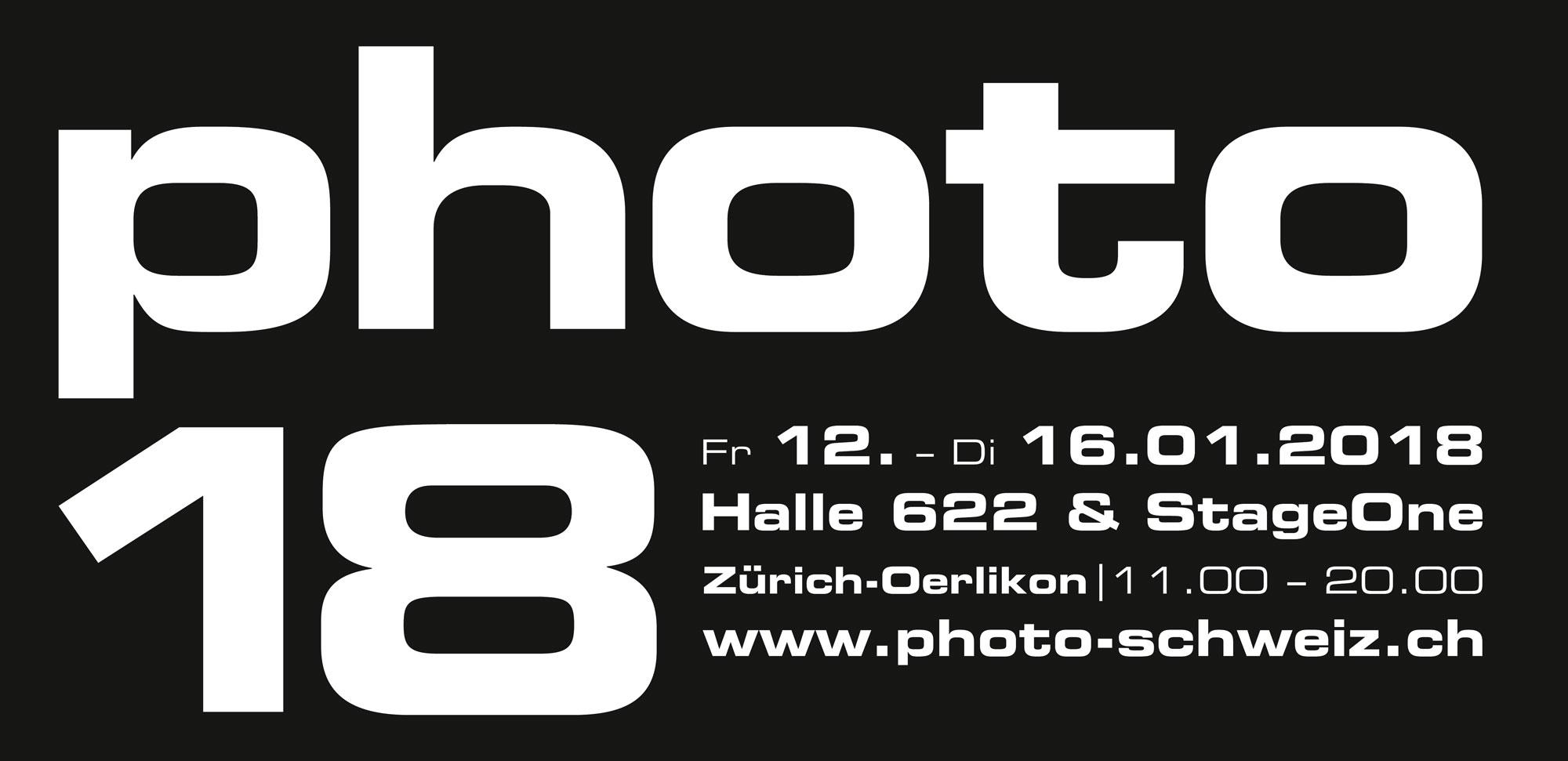 photo 18  Fr 12. - Di 16.01.2018 Halle 622 & StageOne Zürich-örlikon | 11.00 - 20.00
