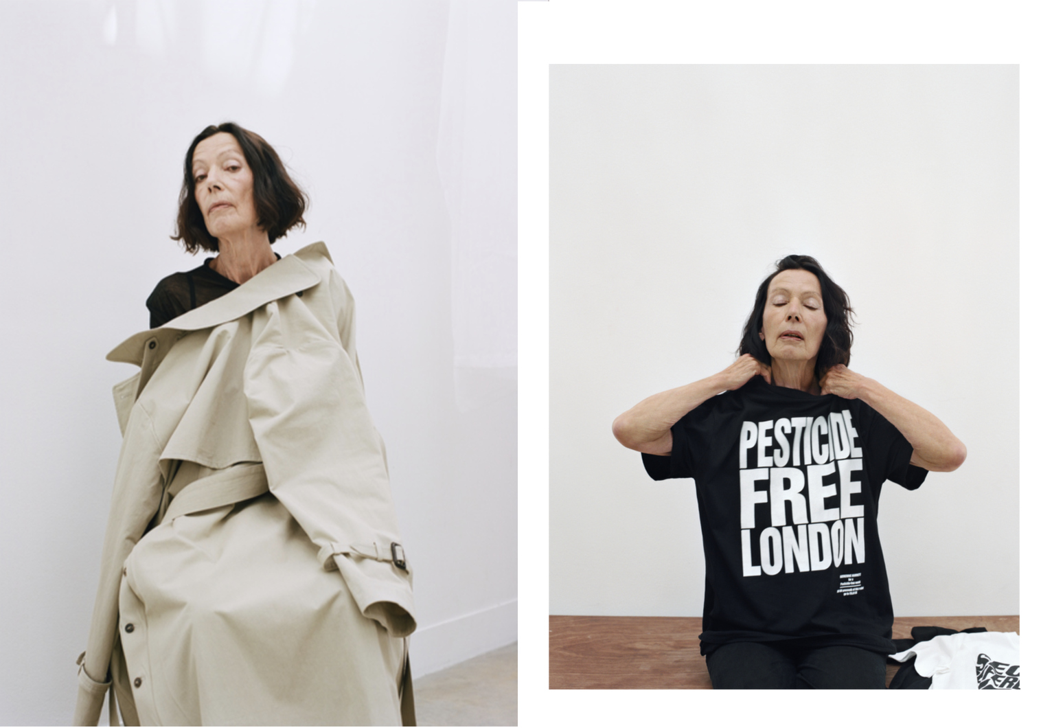 Katharine Hamnett x TWIN Magazine