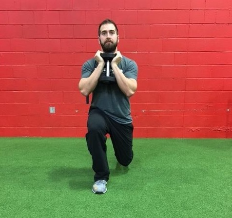 The split squat builds tremendous single leg strength while simultaneously training a split pelvis. These two things together are critical for running speed!