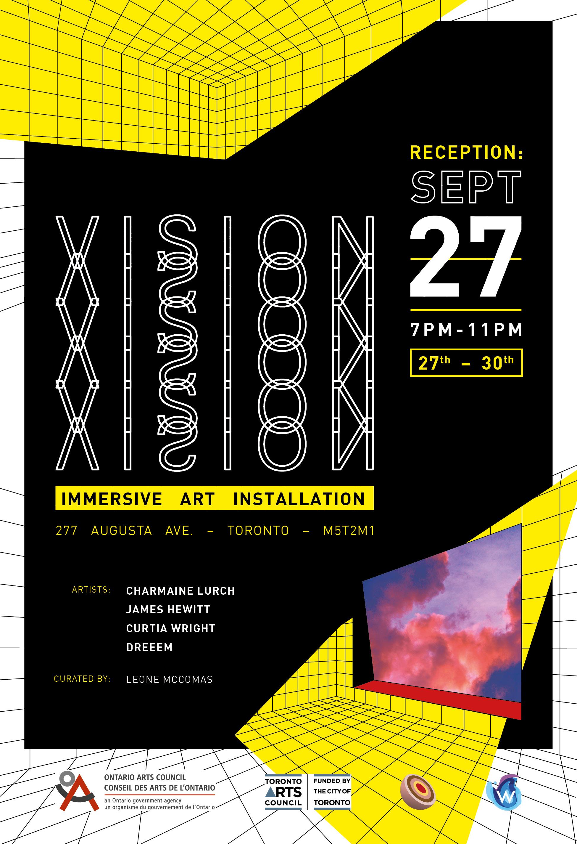 VISION Poster design